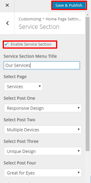 Service Section-2