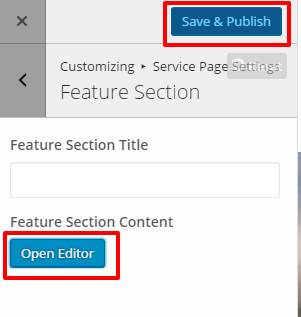 Feature Section