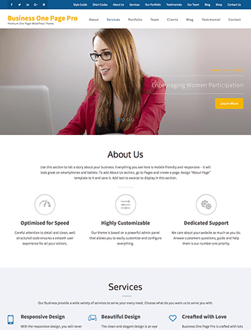 Business One Page Pro 12
