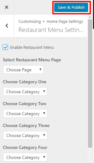 restaurant-menu-setting