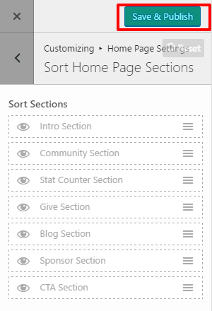sort-home-page-setting