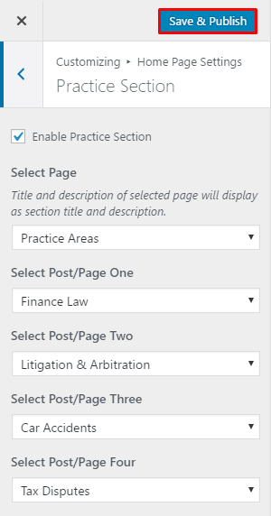 Lawyer Landing Page 2
