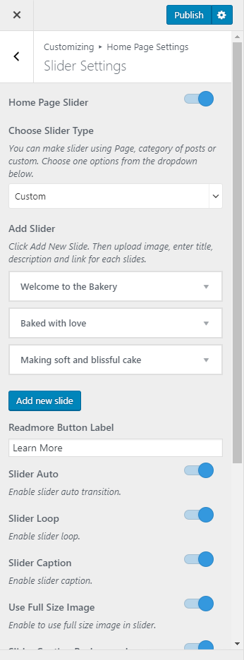 Bakes and Cakes Pro Documentation 3