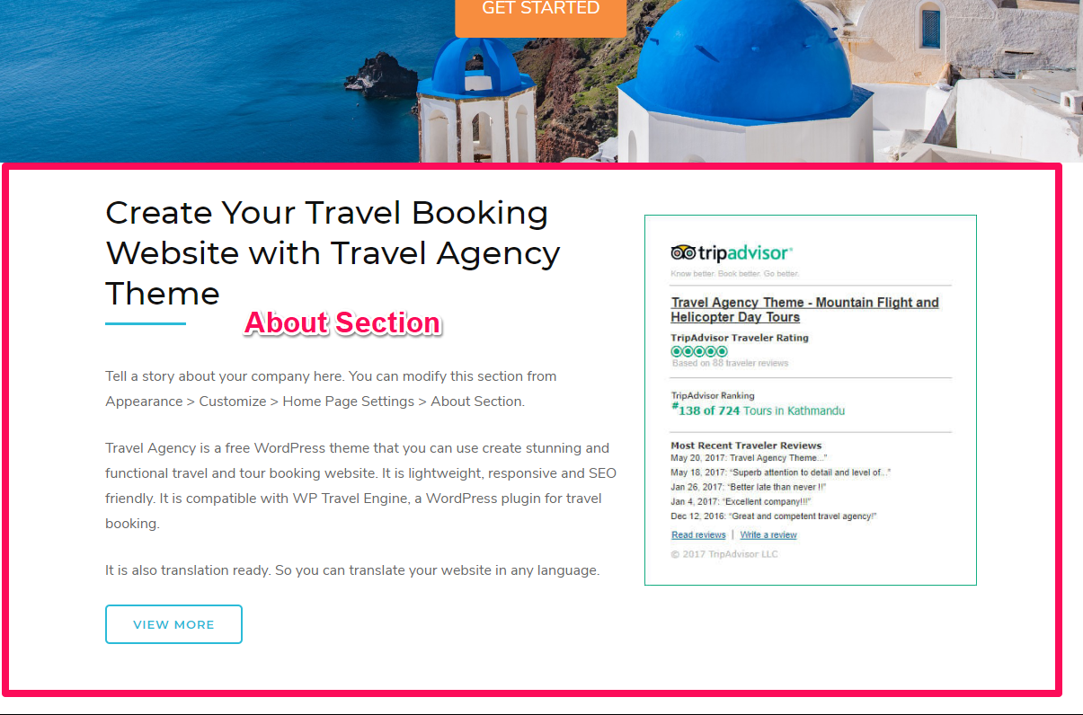 Tour Operator Free WordPress Theme Documentation 18