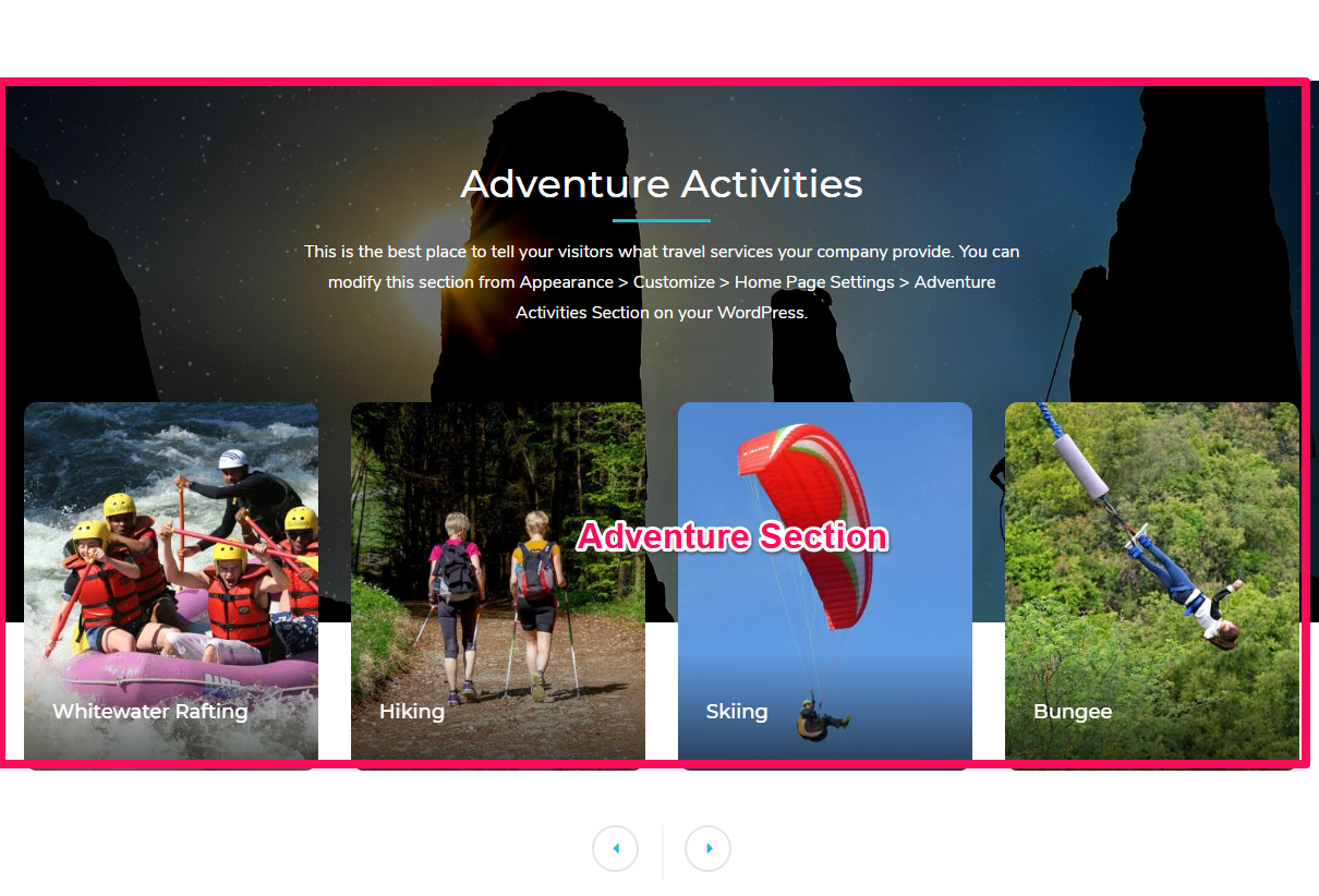 Tour Operator Free WordPress Theme Documentation 20