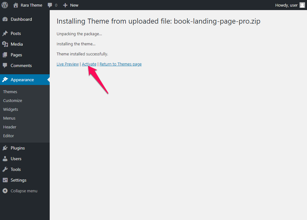 Book Landing Page Pro Documentation 7