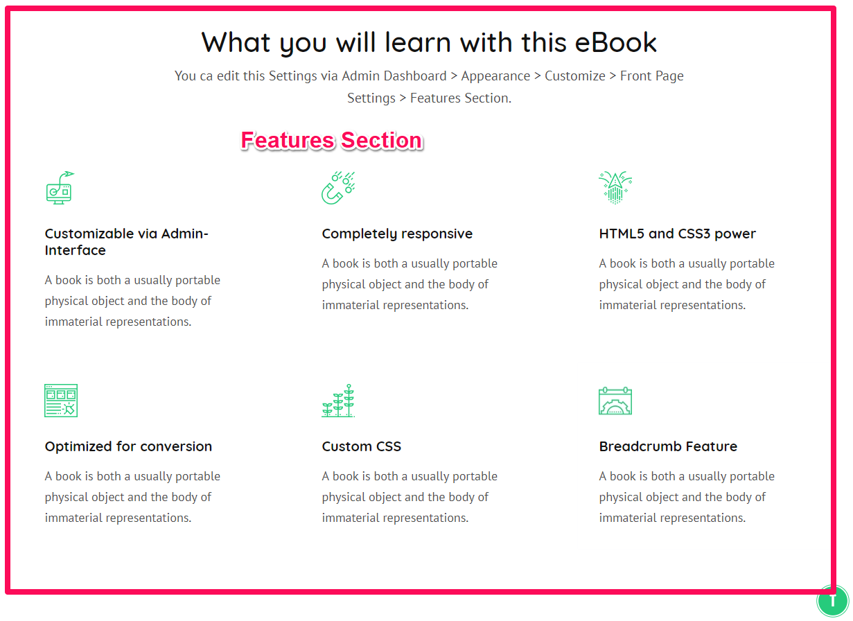 Book Landing Page Pro Documentation 28