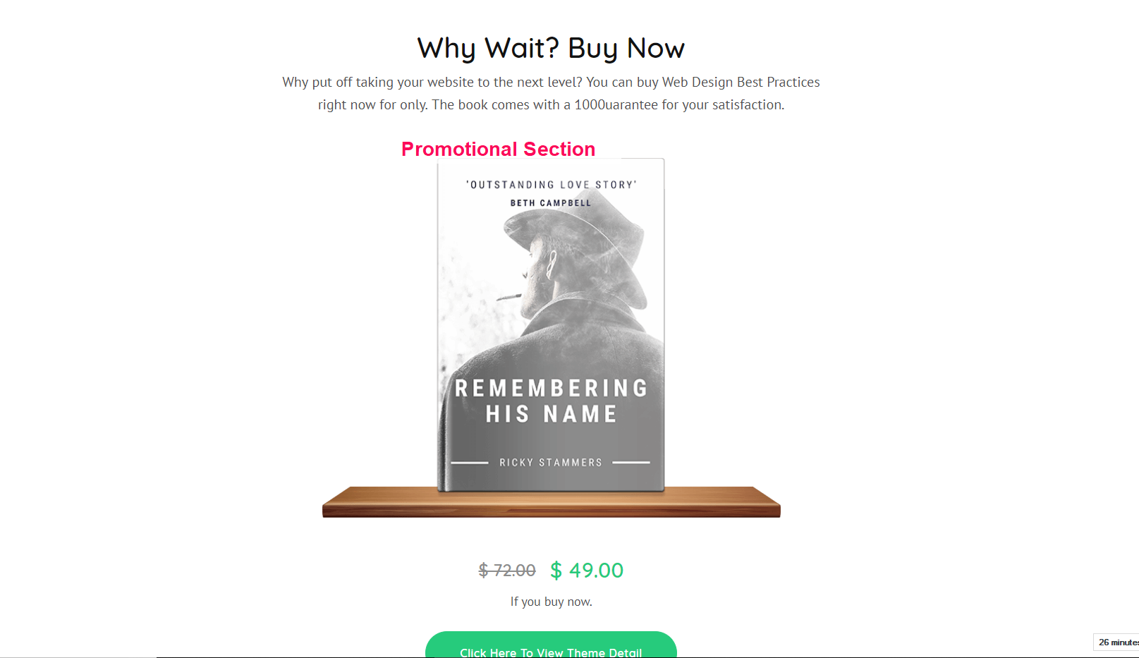 Book Landing Page Pro Documentation 46