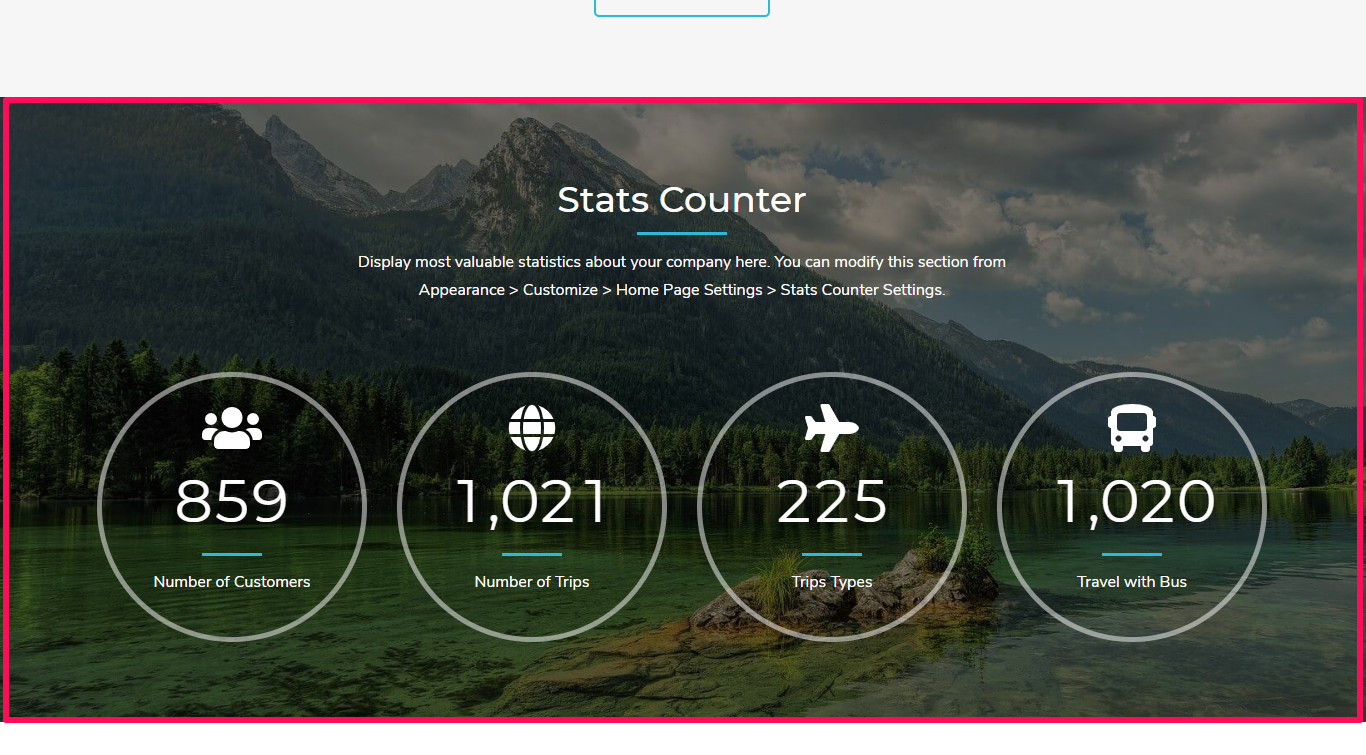 Tour Operator Free WordPress Theme Documentation 28