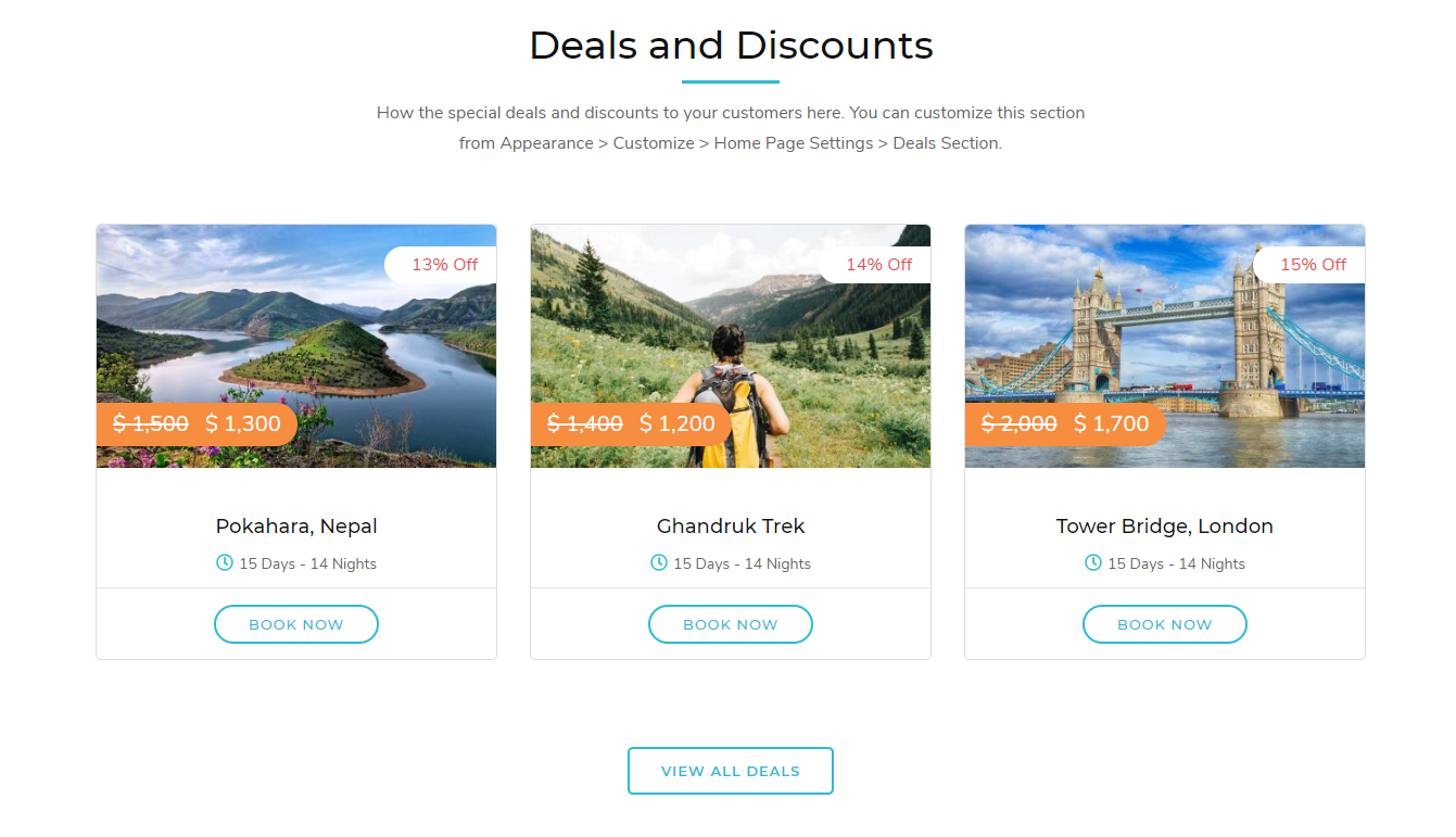 Tour Operator Free WordPress Theme Documentation 30