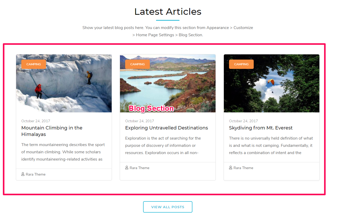 Tour Operator Free WordPress Theme Documentation 34