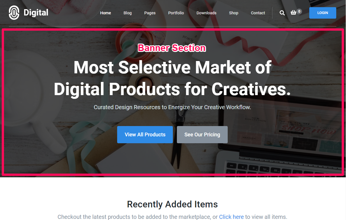 Digital Download Free Theme Documentation 16