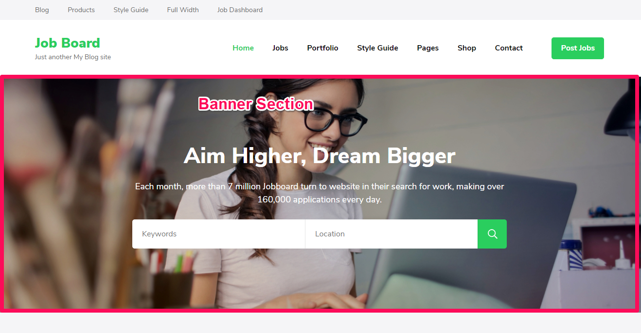 JobScout Free WordPress Theme Documentation 20