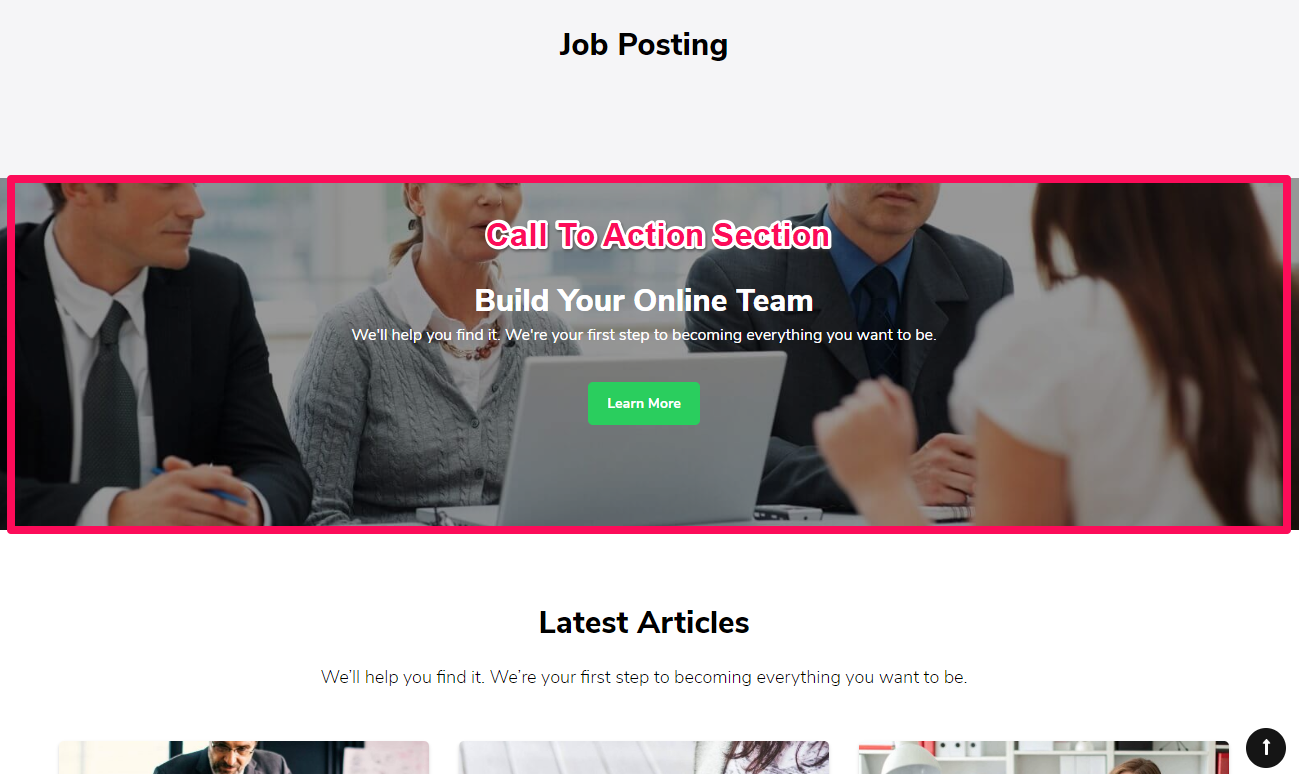JobScout Free WordPress Theme Documentation 23