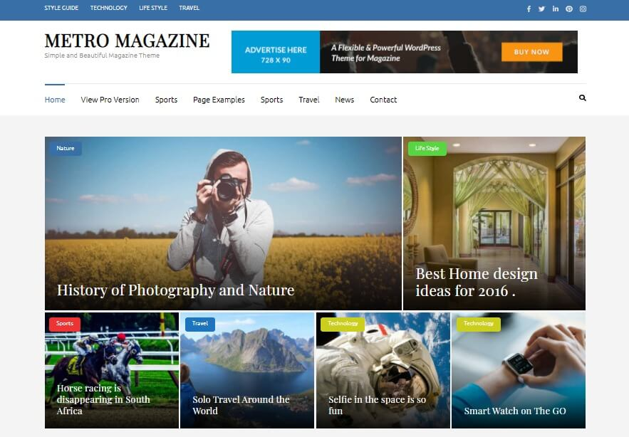 Free Responsive WordPress Themes 4