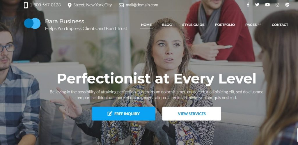 Free Responsive WordPress Themes 2