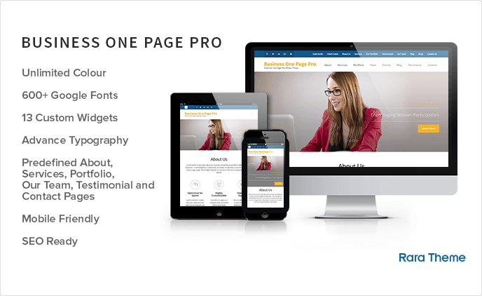Business One Page Pro