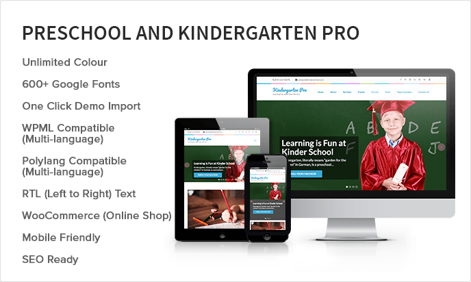 Preschool and Kindergarten Pro