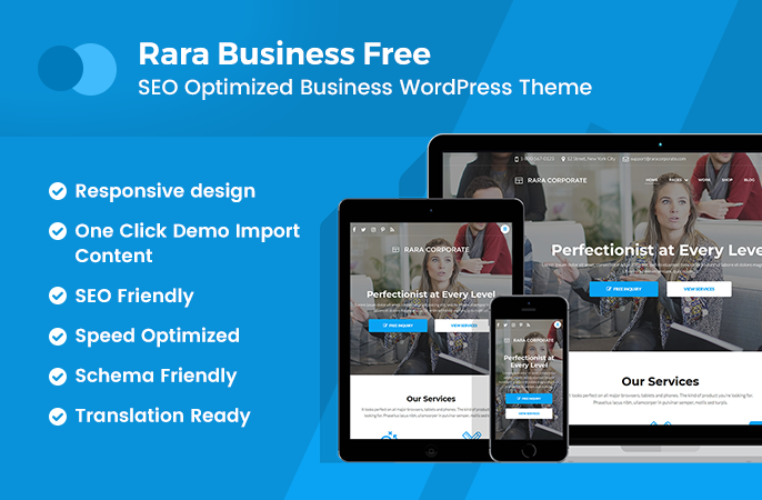Best free business wordpress theme rara business rara business cheaphphosting Image collections