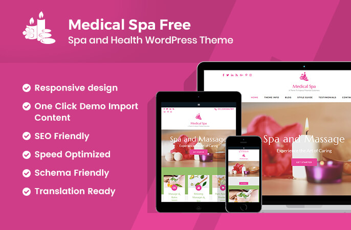 sales banner of Medical Spa Free