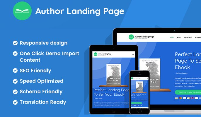 Author Landing Page 2