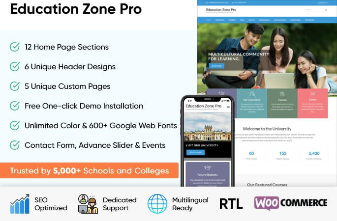 Education Zone Pro