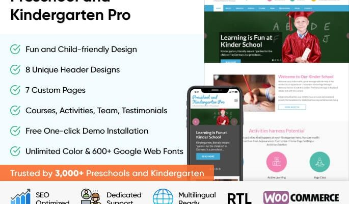 Preschool and Kindergarten Pro 10