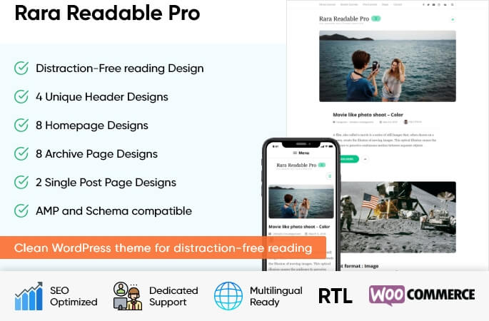 Rara Readable Pro 1
