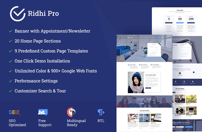 Ridhi Pro sales banner