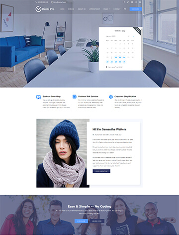 Ridhi Pro WordPress Theme