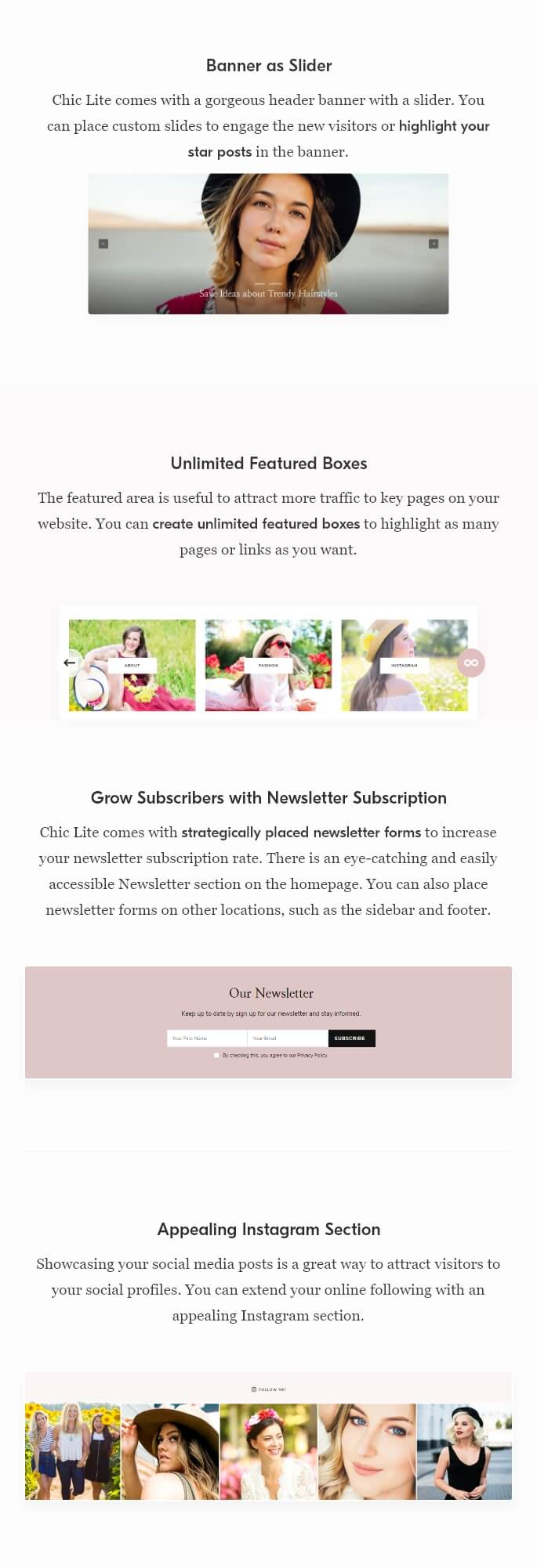 Chic Lite WordPress Theme
